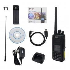TYT MD-UV390 DMR Radio Station Dual Band Dual Time Slot Walkie Talkie IP67 Waterproof w/ USB Cable
