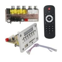 Bluetooth DTS Decoder MP4 MP5 MP3 Audio Decoding Board APE MTV HD Video Player w/ Voltage Regulator Board