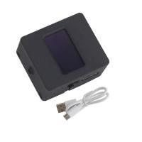 "V-210X Photography Light Meter Hot & Cold Shoe Fix 0.9"" OLED Display Black (Nylon Shell)"