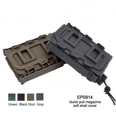 Soft Shell Scorpion Rifle Mag Carrier Quick Pull Magazine Pouch Molle Holder Universal for 5.56/7.62