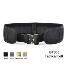 Tactical Girdle Multifunctional Molle Equipment Waist Belt Adjustable Military Combat Waistband
