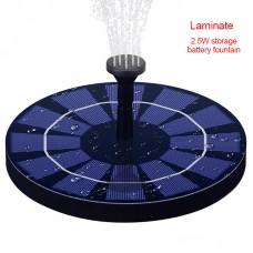 2.5W Solar Powered Fountain Floating Garden Pool Landscape Decoration Solar Fountain Water Pump
