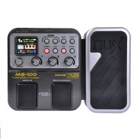 NUX MG-100 Modeling Guitar Processor Guitar Effect Pedal Drum Tuner Recorder 58 Effects 72 Preset