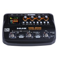 NUX MG-200 Guitar Processor Modeling Effect Pedal Multi Effect Guitar Processor w/ 55 Effect Models