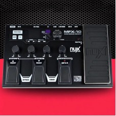 MFX-100 Modeling Guitar Processor Multi Effect Processor Guitar Pedal 55 Effects w/ Preset Switching