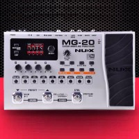 NUX MG-20 Guitar Modeling Processor Multi Effects Amp Pedal Drum w/ 60 Effect Models 72 Preset