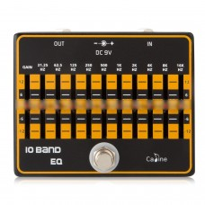 Caline CP-24 10-Band EQ Guitar Effect Pedal Effect True Bypass Guitar Pedals Guitar Accessories