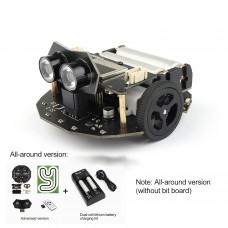 Valon-I Programming Robot Car Mobile Smart Car Kit Support for Arduino Line Patrol Almighty Version Unassembled