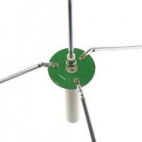 68-350MHz GP Antenna FM Transmitting Receiving Antenna Combined Vibrator Broadband BNC/Q9 Connector