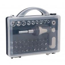 PARON 41pcs Screwdriver Bits Kit Ratchet Screwdriver Set for Household Electrical Repair Maintenance