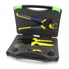 PARON 5 In 1 Wire Crimper Set Terminals Crimping Tool Cutting Pliers with Wire Stripper JX-D53015