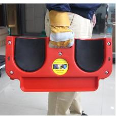 Rolling Knee Pad Flooring Knee Kneeling Pad with 5 Omni-directional Wheels Tool Tray Holder