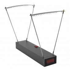 Speed Meter + 3 Light Strips Slingshot Bullet Speed Measuring Velocity Gauge Shooting Speed Tester