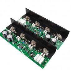MJ2001 50W Amplifier Board MJ11032/33 HiFi Class A Stereo Power Amp Board Angle Aluminum Heat Conduction