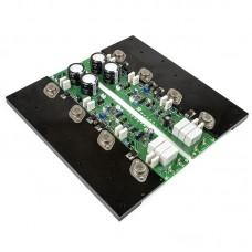 MJ2001 50W Amplifier Board MJ11032/33 HiFi Class A Stereo Power Amp Board Aluminum Plate Heat Conduction