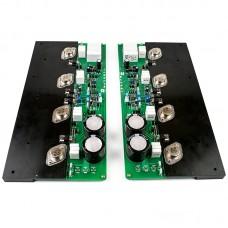 MJ2001 50W Amplifier Board MJ11032/33 HiFi Class A Stereo Power Amp Board CDE Capacitor Heat Conduction