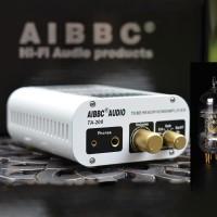 AIBBC TA-200 Power Amplifier Bluetooth DAC Headphone Amp Electronic Tube Decoding XMOS+ES9038 DSD 12AU7 Tube