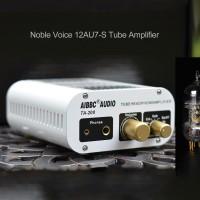 AIBBC TA-200 Power Amplifier Bluetooth DAC Headphone Amp Electronic Tube Decoding XMOS+ES9038 DSD 12AU7-S Tube