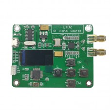 MAX2870 23.5-6000MHz RF Signal Source Signal Generator Module 0.96 Inch OLED Serial Port Control