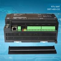 8AI + 16DI + 6DO Data Acquisition Module Industrial Controller RTU-308T RS485 + RS232 Communication