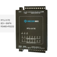 8DI + 8NPN Data Acquisition Module For MODBUS RTU Industrial Controller RTU-317E [RS485+RS232]