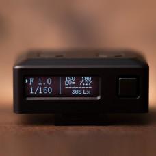 "EM-01 Mini Light Meter Photometer Set-top Photography Luminometer Hot Shoe 0.91"" OLED Display"