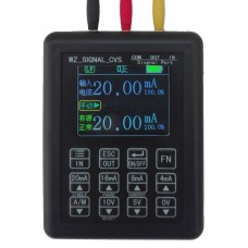 4-20mA Signal Generator Current Voltage Transmitter Calibrator Signal Source w/ Input Output Conversion