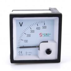 72-L6 500V Voltmeter Voltage Tester Gauge Diesel Generator Set Meter Pointer Digital Panel
