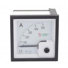 72-L6 500A Ammeter Current Tester Gauge Diesel Generator Set Meter Pointer Digital Panel