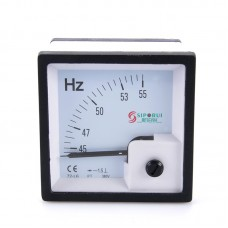 72-L6 55HZ Frequency Meter Frequency Counter Tester Diesel Generator Set Meter Pointer Digital Panel