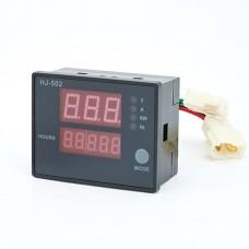 HJ-502 Generator Digital Display Meter 5 in 1 Voltage Current Power Frequency Meter Single Phase