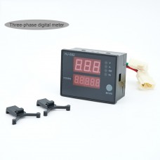 HJ-502 Generator Digital Display Meter 5 in 1 Voltage Current Power Frequency Meter Three Phase