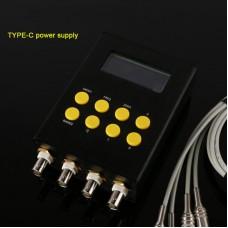 Digital LCR Bridge Tester Resistance Inductance Capacitance Meter ESR Test Type-C Power Supply Version