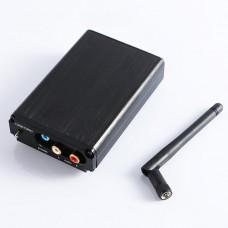 CSR8675 Bluetooth 5.0 Wireless Receiver ES9038Q2M Decoder APTXHD LDAC Headphone Amp w/ Case Antenna Black