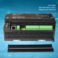 TCP-508V Data Acquisition Industrial Controller 8AI + 4AO + 8DI + 12DO + Ethernet + RS485 + RS232
