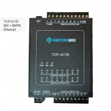 8DI + 8NPN Industrial Controller Data Acquisition For MODBUS TCP TCP-517E [Ethernet Communications]