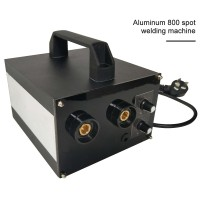 Spot Welding Machine Handheld Spot Welder Soldering Machine Adjustable Current for 18650 Battery (Aluminum 800)