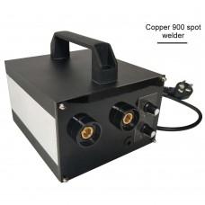 Spot Welding Machine Handheld Spot Welder Soldering Machine Adjustable Current for 18650 Battery (Copper 900)