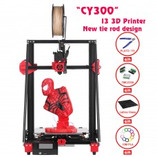 Creativity CY300 FDM 3D Printer Dual Z Axis TMV2208 Drive Support Automatic Leveling Resume Printing