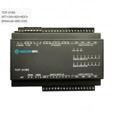 4PT100 + 3AI + 8DI + 8DO Data Acquisition Ethernet IO Module TCP-518G [Ethernet + RS485 + RS232]