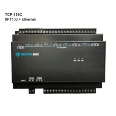 TCP-518C Industrial Controller Data Acquisition Collect Temperature 8PT100 + Ethernet Communications