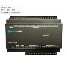 8PT100 + 8AI + 8DI Industrial Controller Data Acquisition Module TCP-518W [RS485 + RS232 + Ethernet]