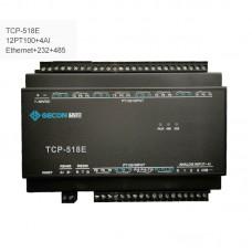 12PT100 + 4AI Industrial Controller Data Acquisition Module TCP-518E [Ethernet + RS232 + RS485]