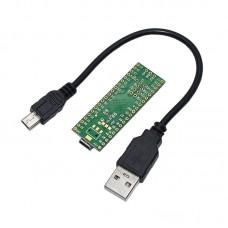 Teensy 2.0++ USB AVR Development Board Keyboard Mouse ISP U Disk Experiment Board AT90USB1286