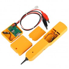 Handheld Telephone Cable Tracker Phone Wire Detector RJ11 Cable Cord Tester Tool Kit with Bag