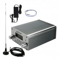 NIO-T15B 15W FM Transmitter Kit Bluetooth PC Control U Disk HiFi Stereo (CA-200N Antenna Version)