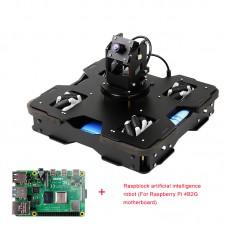 Raspblock AI Smart Robot Car Unassembled Autonomous Driving With Main Board For Raspberry Pi 4B/2G