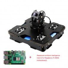 Raspblock AI Smart Robot Car Unassembled Autonomous Driving With Main Board For Raspberry Pi 4B/4G