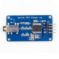 YX5300 MP3 Player Module MP3 Player Board Voice Serial Port Control Music Module TF Card Slot