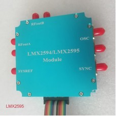 LMX2595 Module Frequency Synthesizer Development Board w/ Case PLL 10M-20GHz Microwave Signal Source